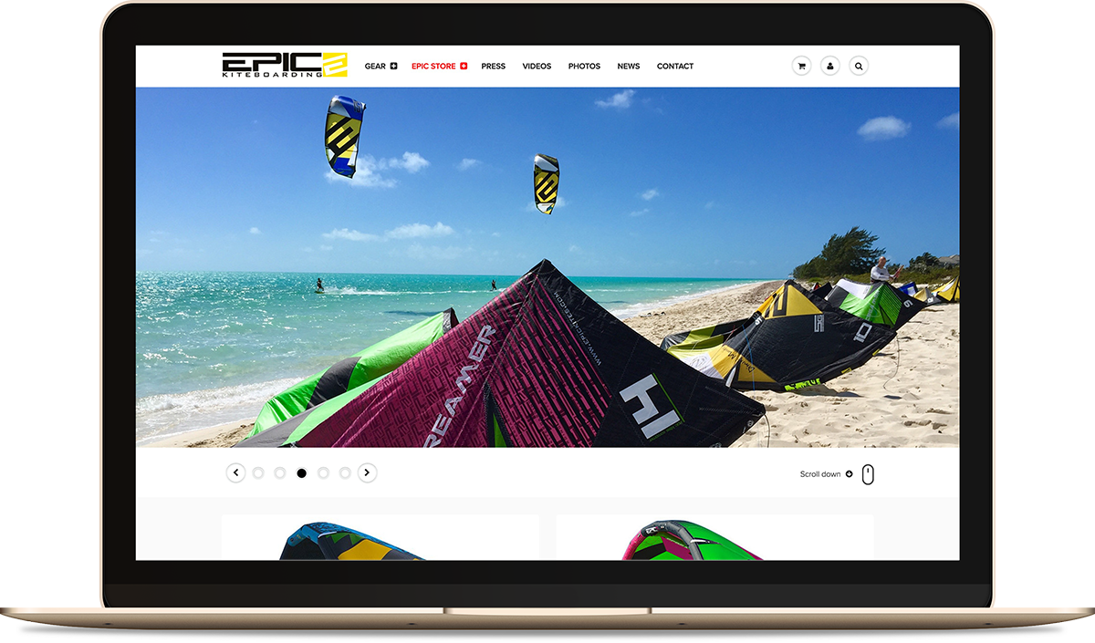 EPIC KITES KITEBOARDING STORE | PYTHON FORCE