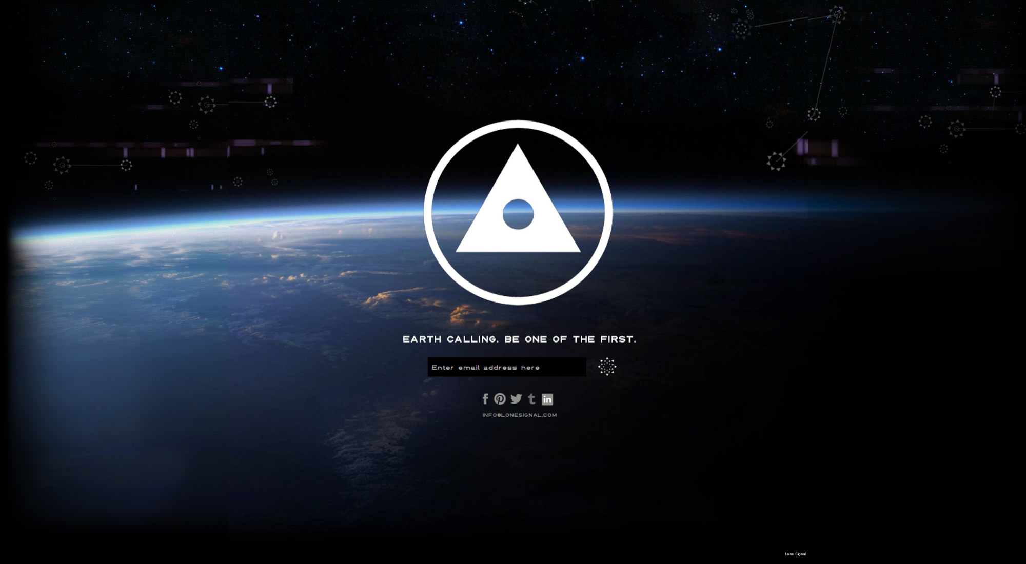 Lone Signal website
